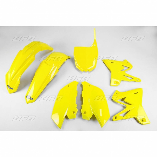 Sada plastů YZ 125-250 Restiling-101-žlutá -2001