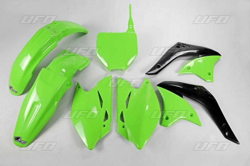 Sada plastů UFO KXF 450 06-026-zelená KX org.