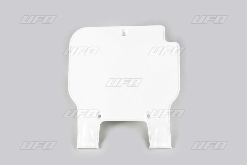 Přední číslová tabulka-047-bílá KX