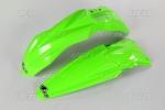 Sada blatníků KXF 450 2018-AFLU-neon/zelená