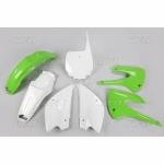 Sada plastů UFO KX85 2013 Restyling-999-OEM standartní barvy