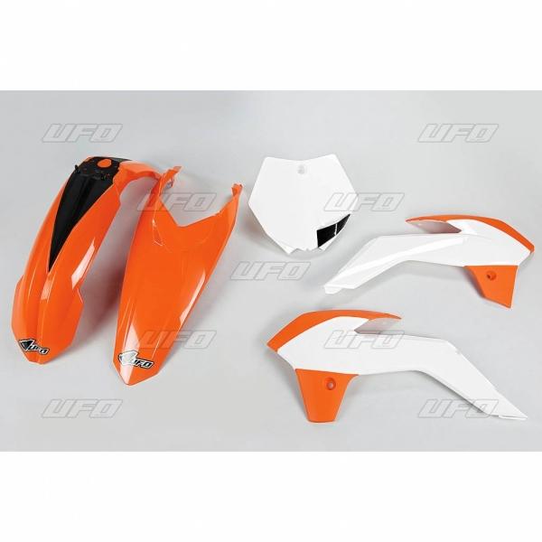 Sada plastů KTM 85 2015-999W-standartní barvy - BÍLÁ