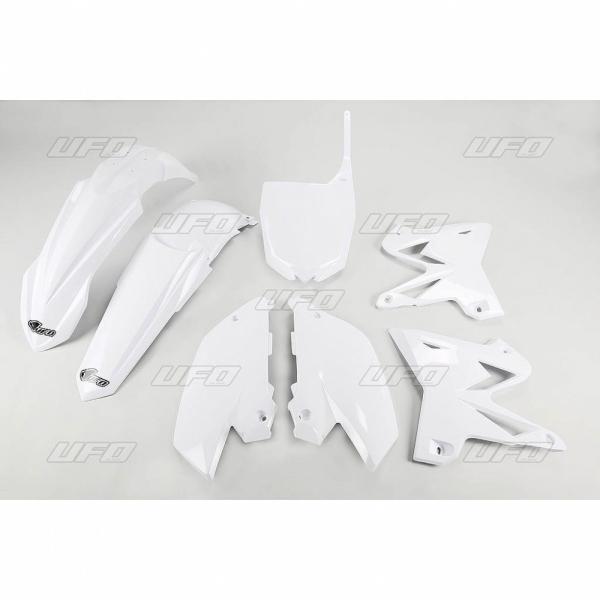 Sada plastů YZ 125-250 Restiling-046-bílá Yamaha