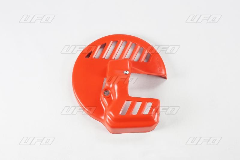 Kryt přední kotoučové brzdy-121-červená CR90