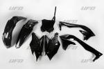 Sada plastů UFO KXF 450 2016-001-černá