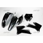Sada plastů UFO KTM2T/4T 05-06-001-černá