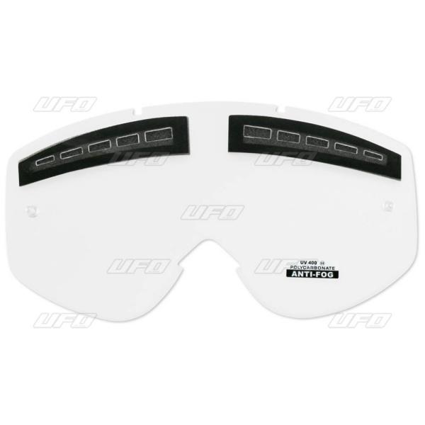 Sklo do brýlí - děrované nemlžící k 2175