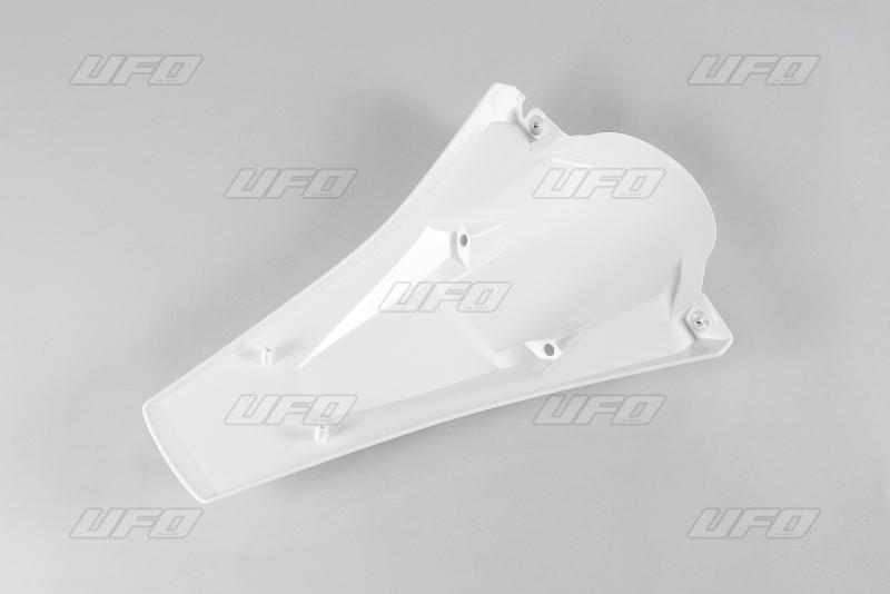 Zadní blatník enduro s LED světlem -041-bílá