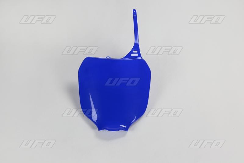 Přední číslová tabulka YZ-089-modrá