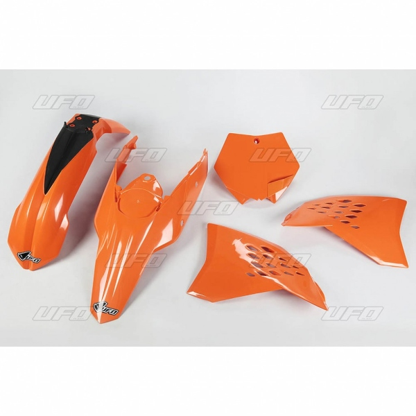 Sada plastů UFO KTM2T/4T 07-08-127-oranžová (03-)