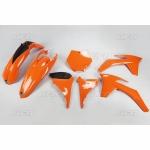 Sada plastů KTM SXF 2011-127-oranžová (03-)
