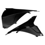 Kryt vzduch.filtru EXC 2014-001-černá
