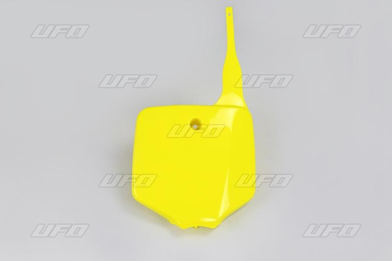 Číslová tabulka KX 65-102-žlutá RM 02-