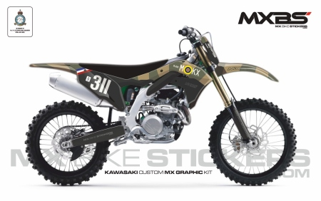 Design 170 - Kawasaki KXF 450  2019 - 2021