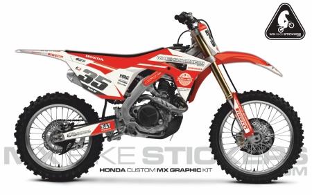 Design 63 - Honda CRF R 450  2017 - 2019, Honda CRF R 250  2018 - 2019