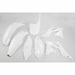 Sada plastů UFO KXF 250 2013--047-bílá KX