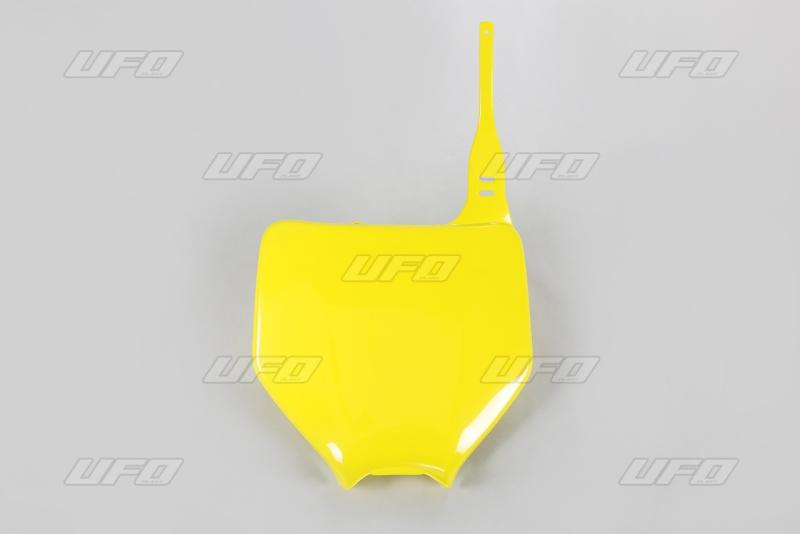 Přední číslová tabulka-102-žlutá RM 02-