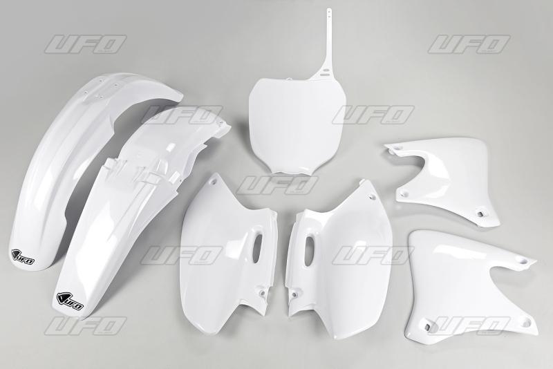 Sada plastů UFO YZF 250 01-02 -046-bílá Yamaha