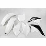 Sada plastů UFO KXF 250 2006-041-bílá