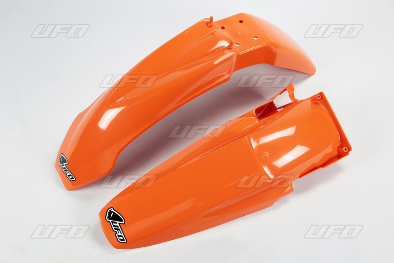 Sada blatníků KTM SX-SXF 2003-127-oranžová (03-)