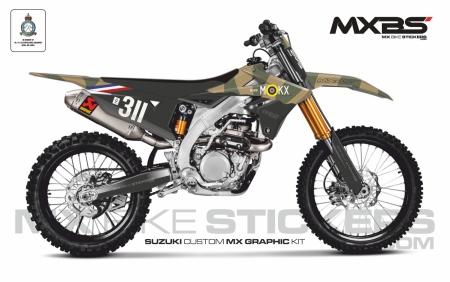 Design 166 - Suzuki RMZ 450  2018 - 2019