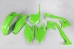 Sada plastů UFO KXF 450 2018-026-zelená KX org.