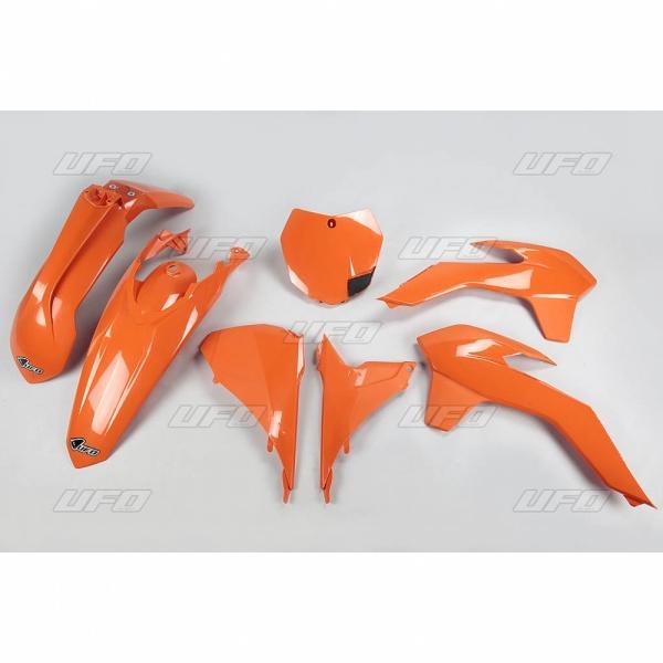 Sada plastů KTM SX-SXF 2013-2015, SX 250 2016-127-oranžová (03-)