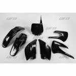 Sada plastů UFO KX 85 Restyling-001-černá