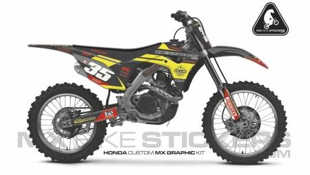 Design 61 - Honda CRF R 450  2017 - 2019, Honda CRF R 250  2018 - 2019