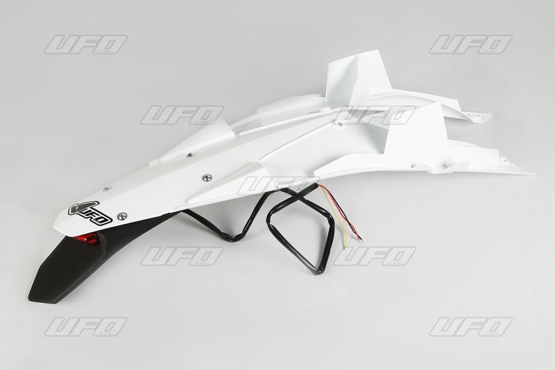 Enduro zadní blatník se světlem TC 449 (2011) & TE 449-511 (2011)-041-bílá