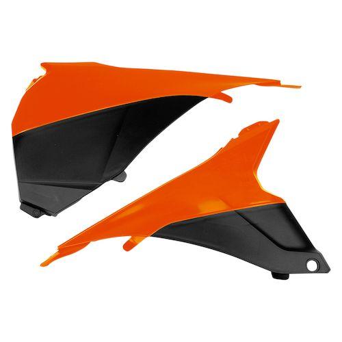 Kryt vzduch. filtru KTM EXC 2014-127-oranžová (03-)