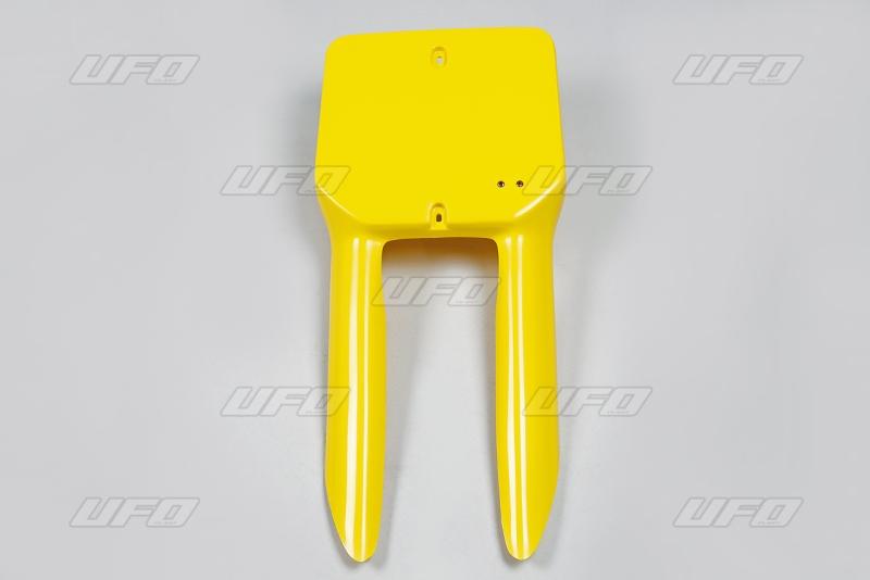 Přední číslová tabulka RM-101-žlutá -2001