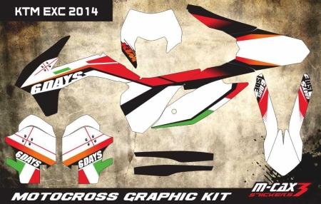 Design 31 - KTM EXC 125  2014 - 2015, KTM EXC 250  2014 - 2015, KTM EXC 300  2014 - 2015, KTM EXC F 250  2014 - 2015, KTM EXC F 350  2014 - 2015, KTM EXC F 450  2014 - 2015
