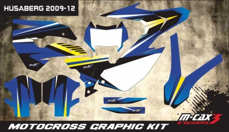 Design 43 - HUSABERG FC 450  2009 - 2012, HUSABERG FC 501  2009 - 2012, HUSABERG FC 550  2009 - 2012, HUSABERG FE 450  2009 - 2012, HUSABERG FE 250  2009 - 2012