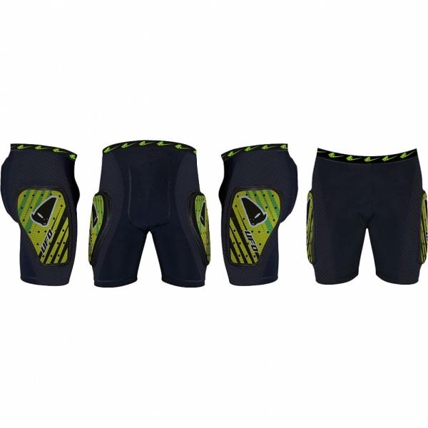 Kalhoty krátké polstrované-A-zelená