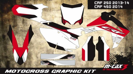 Design 14 - Honda CRF R 450  2013 - 2016