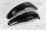 Sada blatníků YZ 125-250 2002-2005-001-černá