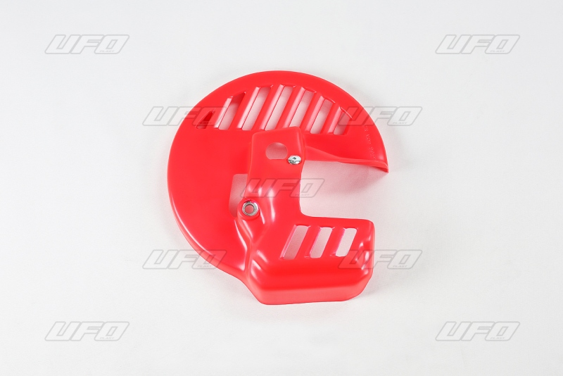 Kryt přední kotoučové brzdy-067-červená CR 92-97