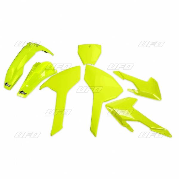 Sada plastů TC-FC 125-250-300-350-450 2016 (noTC250)-DFLU-neon/žlutá
