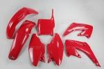 Sada plastů CR125/250 04-070-červená Honda