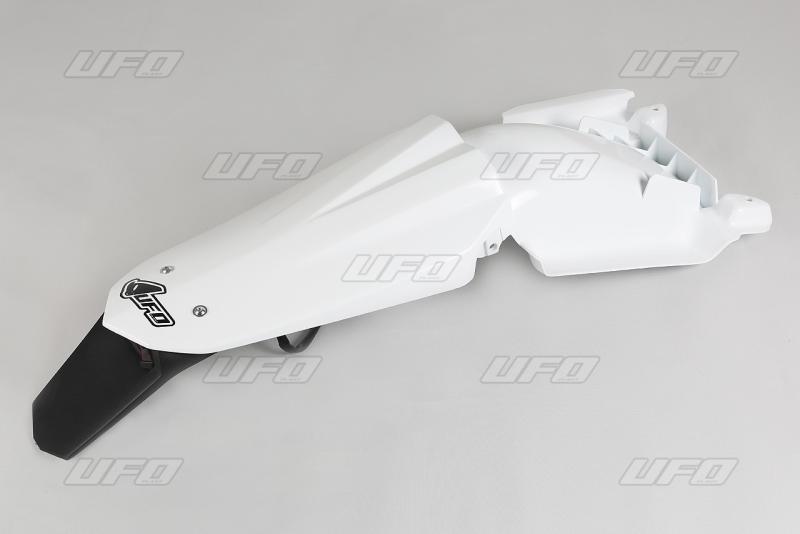 Zadní blatník Enduro HVA-041-bílá