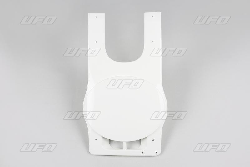 Přední číslová tabulka s držákem na lanko-W-bílá