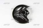 Chránič přední kotoučové brzdy-001-černá