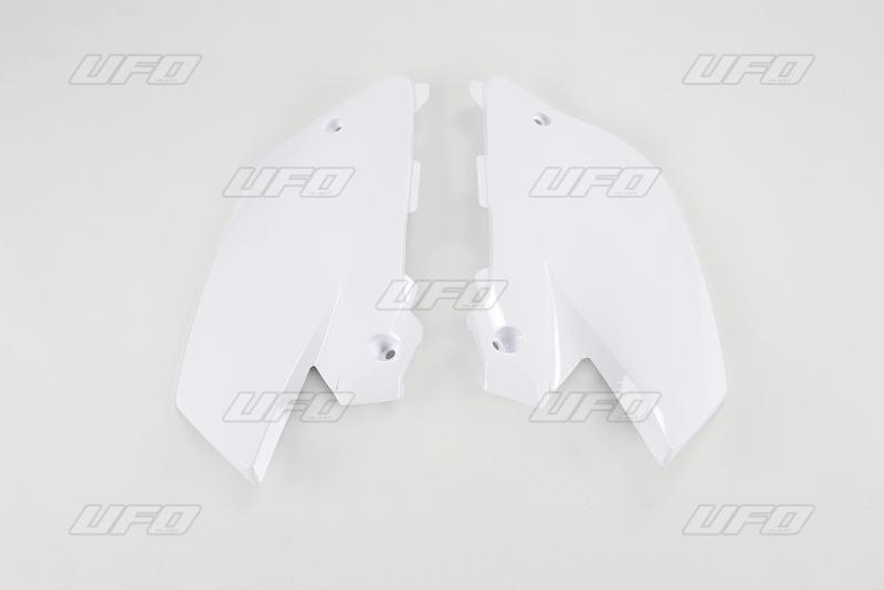 Bočnice YZ UFO Design-046-bílá Yamaha