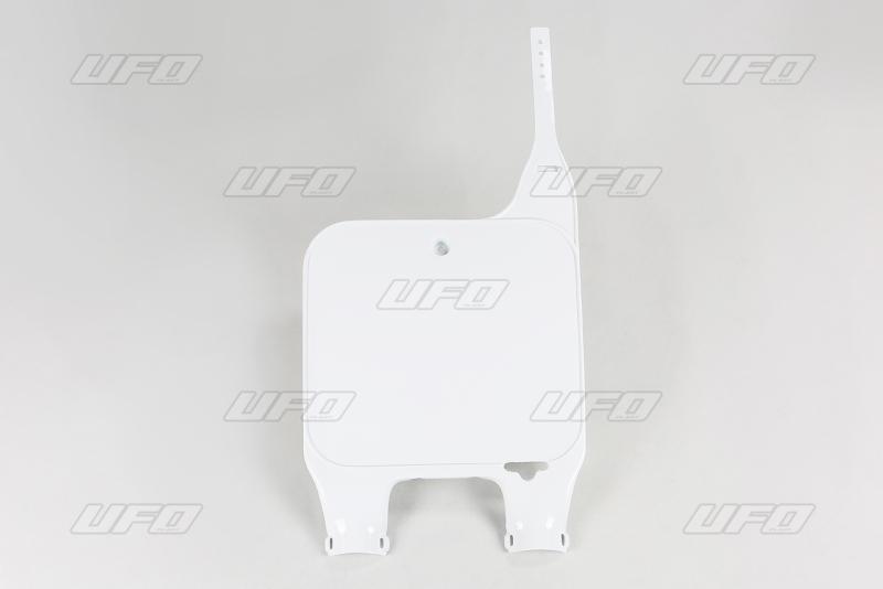 Přední číslová tabulka-041-bílá