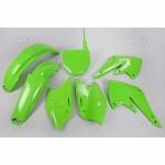 Sada plastů UFO KXF 250 04-026-zelená KX org.