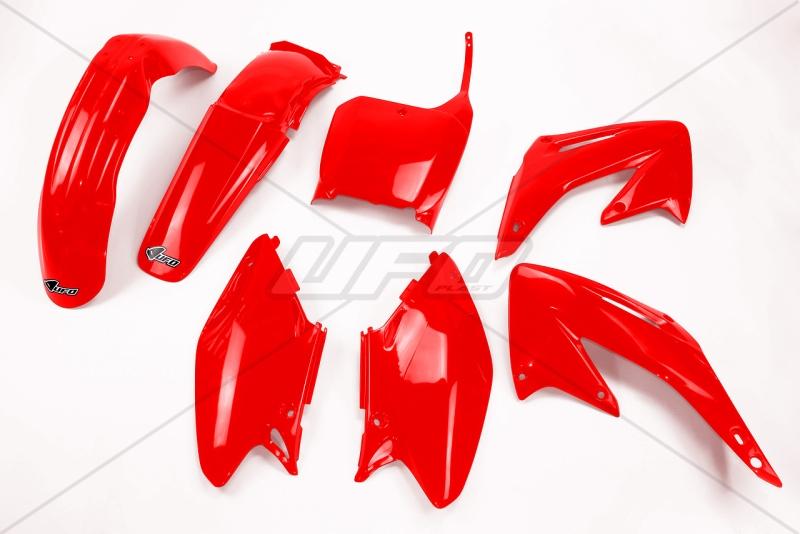Sada plastů CR125/250 02-03-070-červená Honda