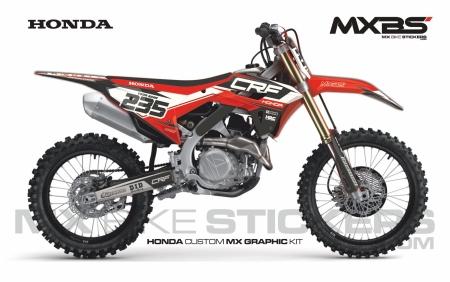 Design 203 - Honda CRF R 450  2021 - 2021, Honda CRF R 450  2009 - 2012, Honda CRF R 250  2010 - 2013, Honda CRF R 250  2014 - 2017