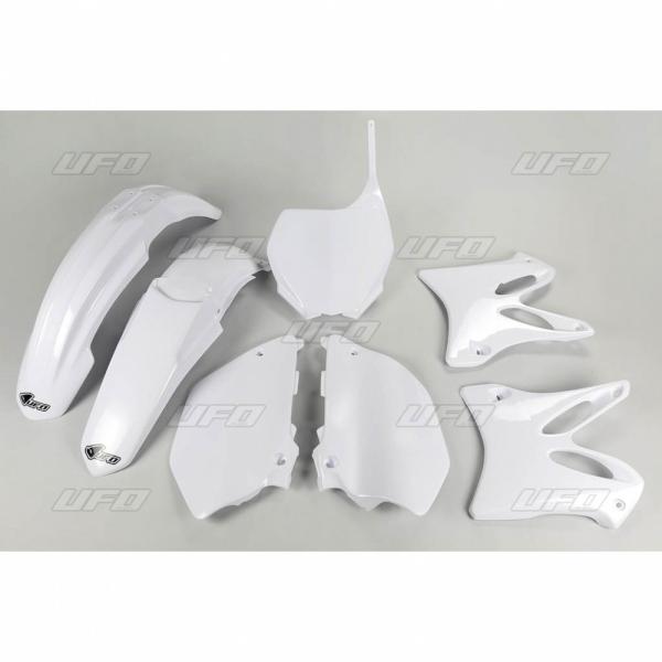 Sada plastů UFO YZ 125-250 -046-bílá Yamaha