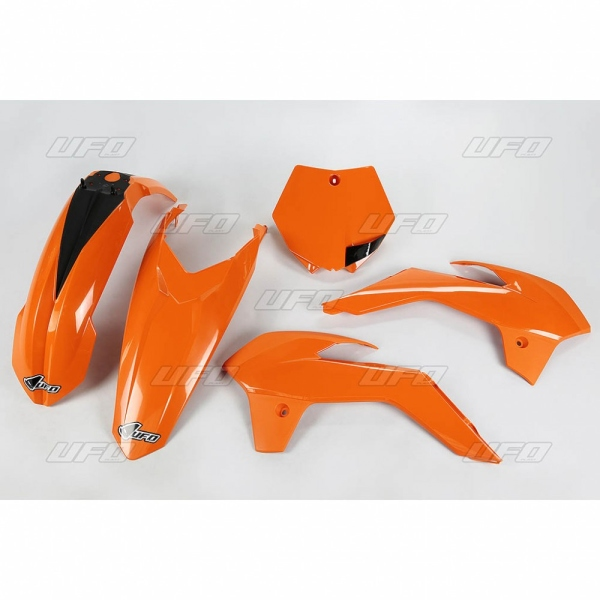 Sada plastů KTM 85 2017-FFLU-neon/oranžová